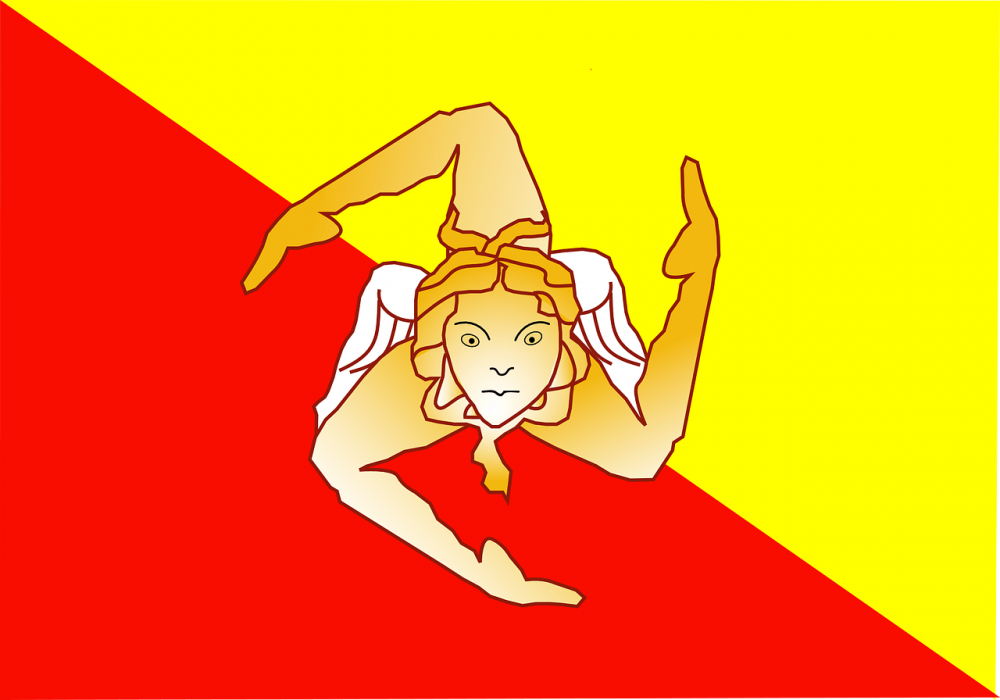 sicily national flags meanings