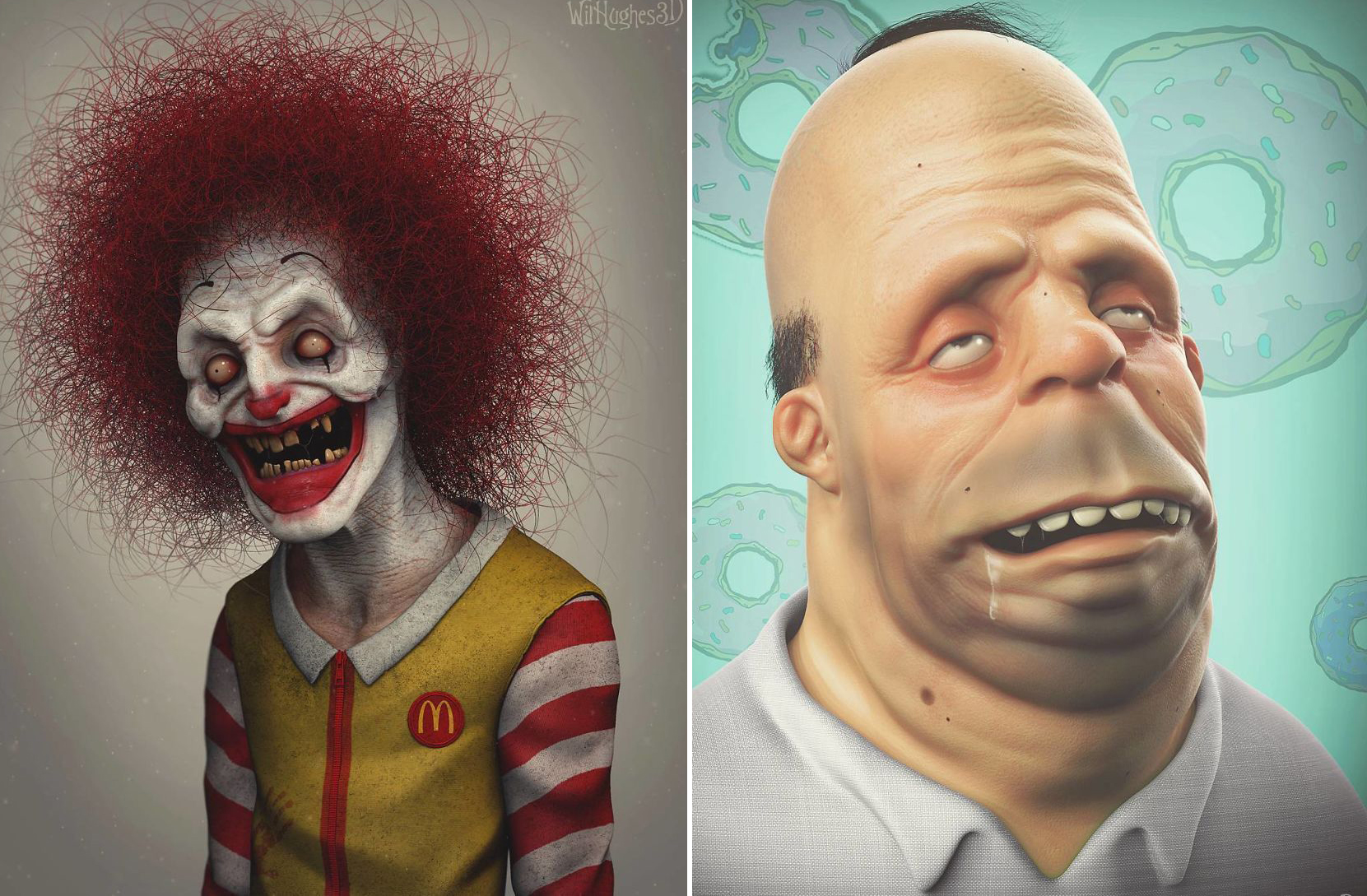 Artist Shows How Pop Culture Icons Would Look In Real Life And