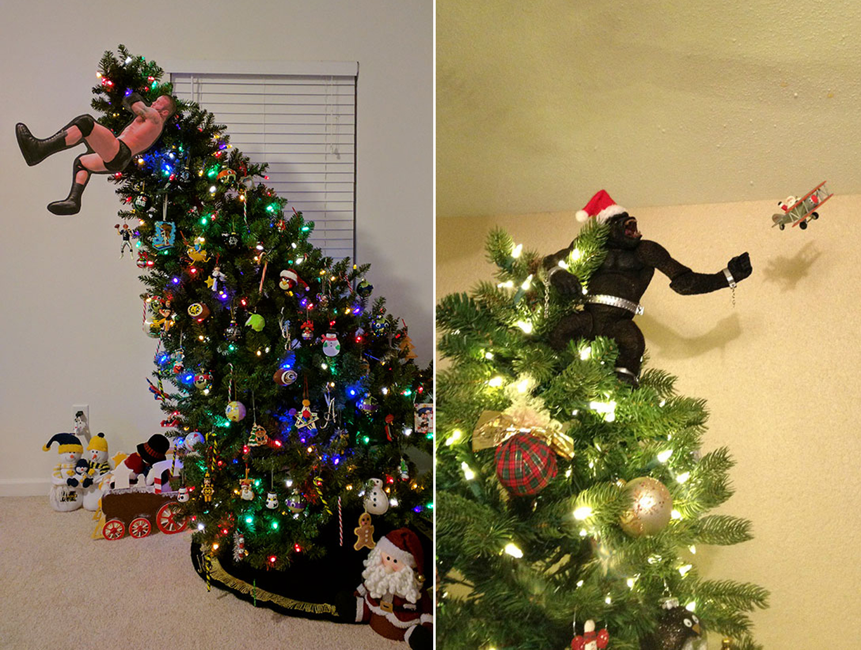18 Brilliant Christmas Tree Topper Alternatives For When A Star Won T Do